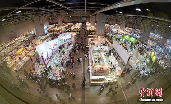 资料图:2019年第30届香港书展。<a target='_blank' href='http://www.chinanews.com/'>中新社</a>记者 张炜 摄