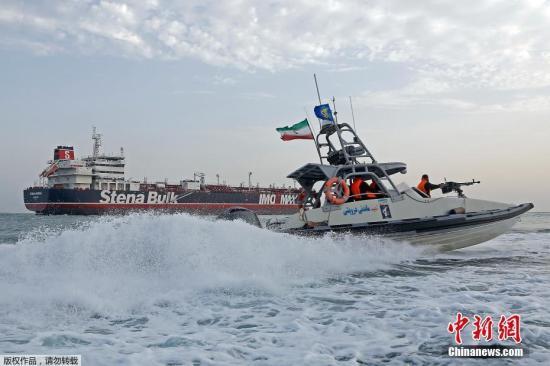 接着扣?伊朗油轮在英获释次日 美国再发扣押令