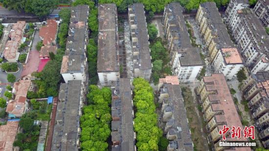 资料图:老旧小区。蒋雪林 摄