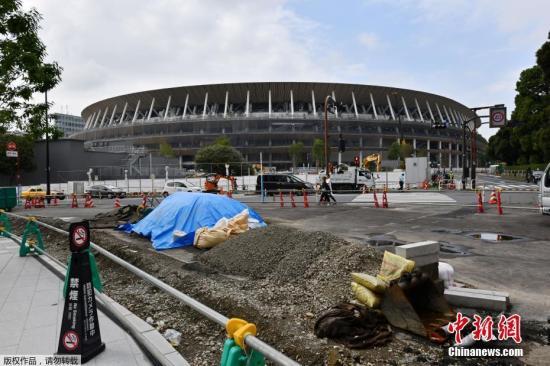 7月24日消息,东京奥运会将于2020年7月24日开幕,如今倒计时一周年,主场馆新国立竞技场接近完工。