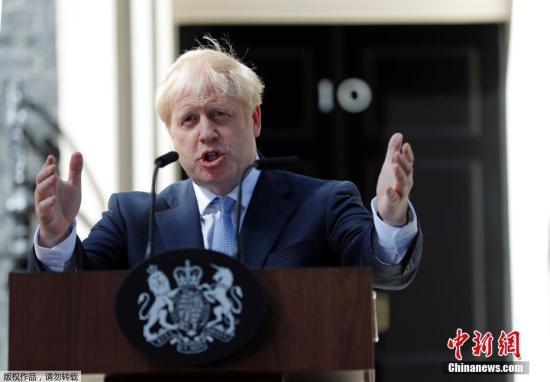 """约翰逊上任后访全英 苏格兰官员斥硬脱欧""""危险"""""""