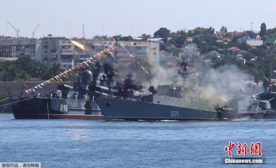 黑海战云密布?乌克兰东部局势紧张 美国动作不断