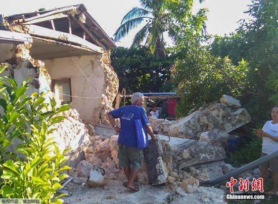 最准时时彩计划领头羊菲律宾北部海域发生3次5级以上地震 至少8人