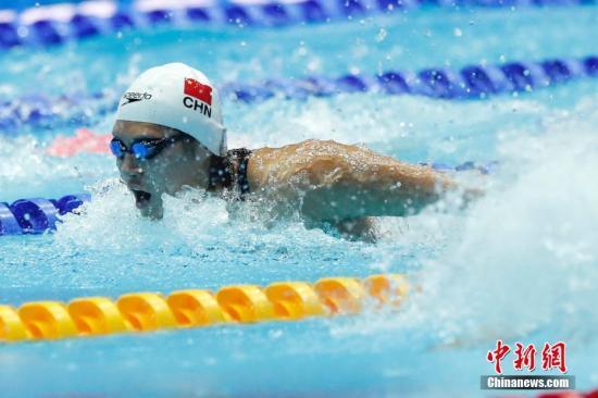 <b>中国泳军世锦赛载誉归来 叶诗文坦言不再惧怕比赛</b>