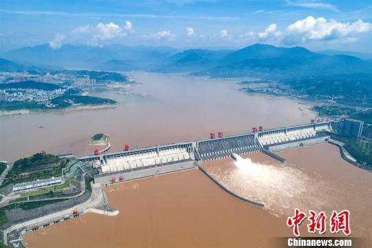 资料图:长江三峡电站。王罡 摄