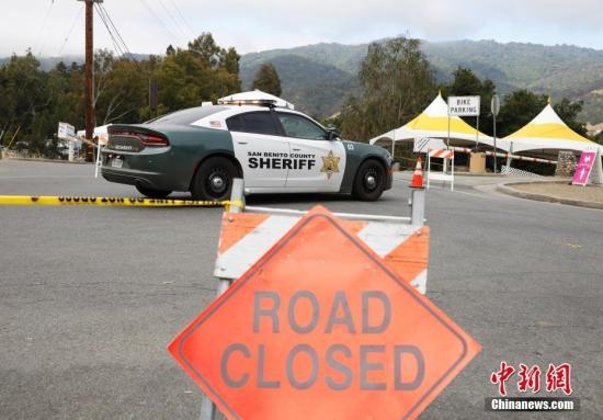 美国加州枪击案现场仍封锁 警方公布枪手身份