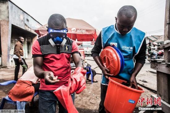 资料图:刚果(金)埃博拉疫情区。