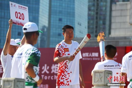 王治郅。a target='_blank' href='http://www.chinanews.com/'中新社/a记者 刘占昆 摄