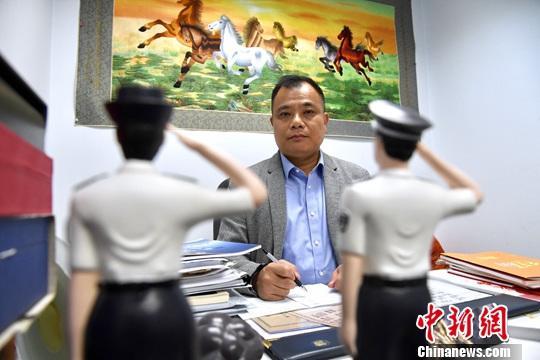 资料图:林志伟。a target='_blank' href='http://www.chinanews.com/'中新社/a记者 李志华 摄