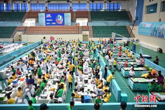 2019世界机器人大赛将在京举行 全球近4万人参与选拔赛