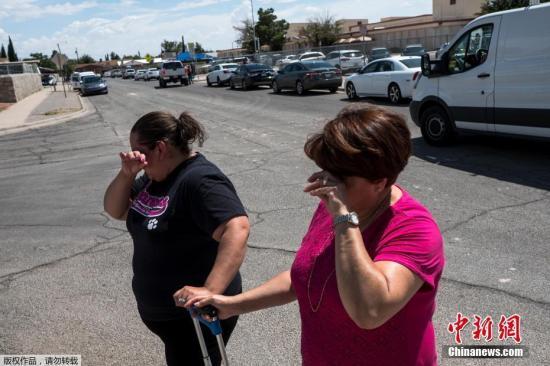 美得州枪击案嫌犯一路开枪进店 多达3000人正采购