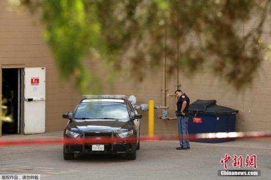 美国得克萨斯州警方确认埃尔帕索枪击案嫌犯身份