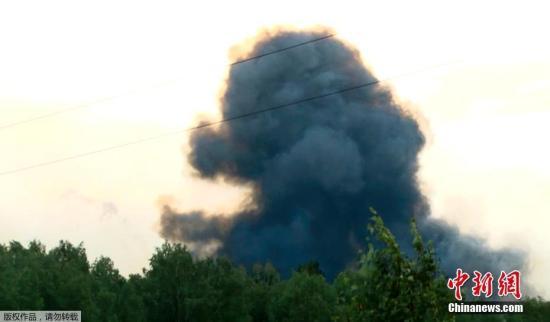 俄罗斯拉斯诺亚尔斯克边疆区统一调度局的消息称,该边疆区阿钦斯克区某部队驻地的军火库5日起火并发生爆炸,造成1人死亡,小泽优慕枫,多人受伤,