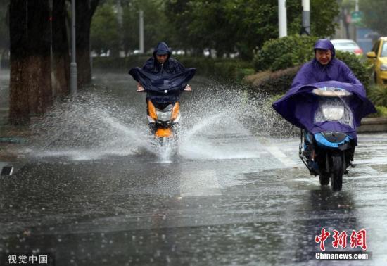 """东北地区有阵性降雨 台风""""杨柳""""逐渐靠近海南南部"""