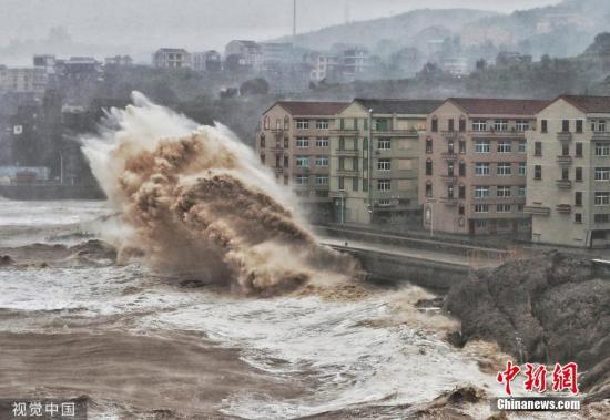 浙江温州永嘉县堰塞湖决口 致13人遇难16人失联