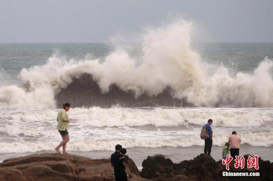 """台风""""利奇马""""将北上进入渤海 山东辽宁等地有强降水"""