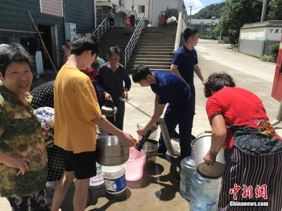 """中国红基会向""""利奇马""""台风灾区援助3000只""""赈济家庭箱"""""""