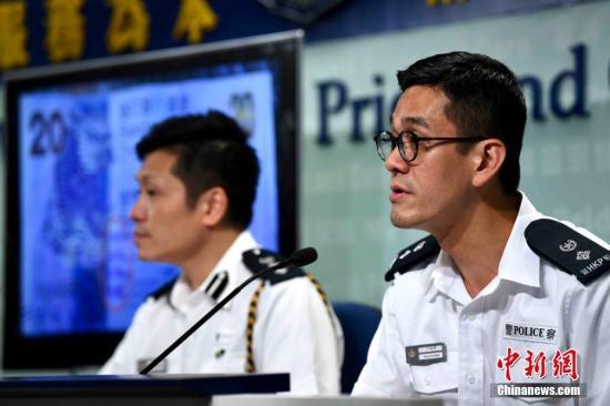 资料图:香港警察。 中新社记者 李志华 摄