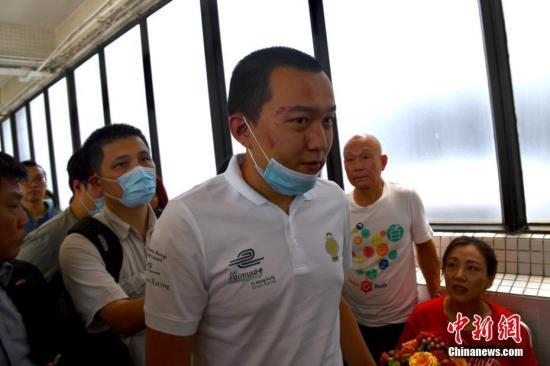 袭击付国豪19岁香港男子 另涉用伞袭击警察