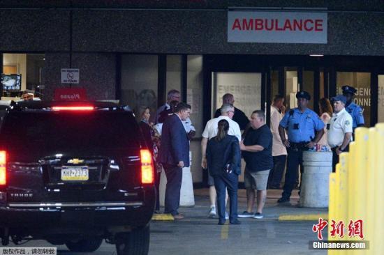 美国费城发生枪击案 至少六警察受伤