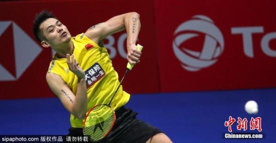 止步世锦赛第二轮的林丹已然失去竞争东京奥运资格的先机。图片来源:Sipaphoto版权作品 禁止转载