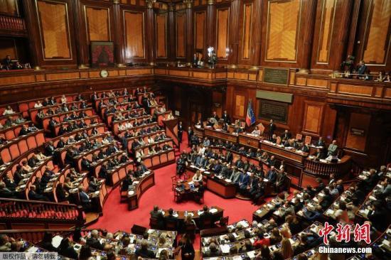 资料图:意大利国会。