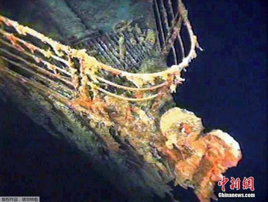 美国公司欲派机器人进入泰坦尼克号 拆下无线电设备