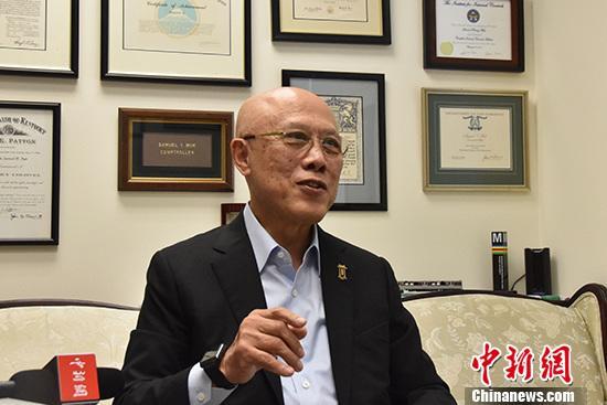 专访美国劳工部前副部长莫天成:香港混乱局面不能再继续