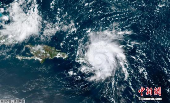 """飓风""""多利安""""预计将在9月1日和2日抵达佛州。"""