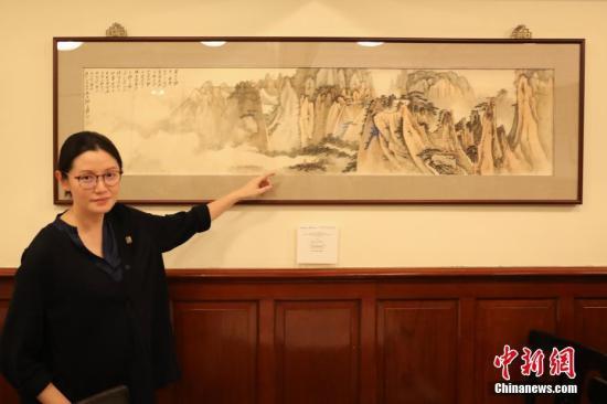 张大千两幅画作下月香港拍卖 估价高达近千万港币