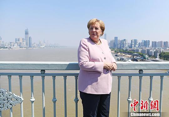 资料图:德国总理默克尔。中xin社记者 张璨龙 摄