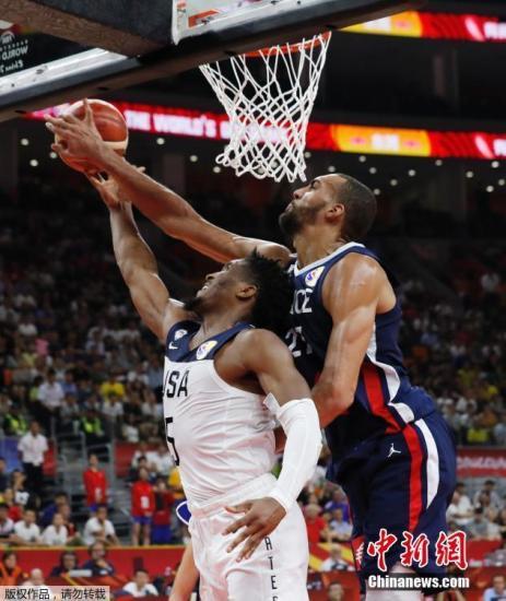 9月11日,在刚结束的2019年男篮世界杯四分之一决赛中,美国男篮79:89不敌法国队遭到淘汰。这是他们自2006年以来,世界大赛正式比赛中的首场失利。