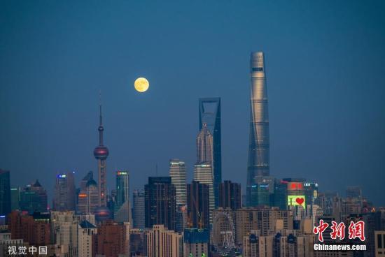 上海陆家嘴。图片来源:视觉中国