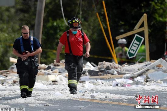 本地工夫9月16日,好国缅果州法明顿市,冶修建发作爆炸,形成一位救火员罹难,还有多人受伤。