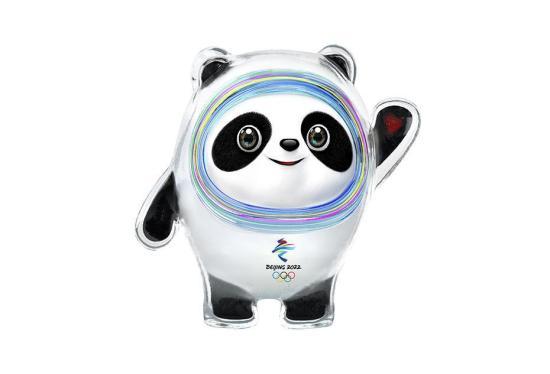 """9月17日,2022年北京冬奥会吉祥物""""冰墩墩""""和冬残奥会""""雪容融""""在北京发布。北京冬奥会和冬残奥会吉祥物于2018年8月8日面向全球征集,共收到设计方案5816件。图为2022年北京冬奥会吉祥物""""冰墩墩""""。北京冬奥组委 供图"""