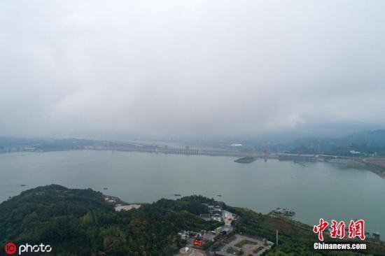 资料图:长江三峡水库。