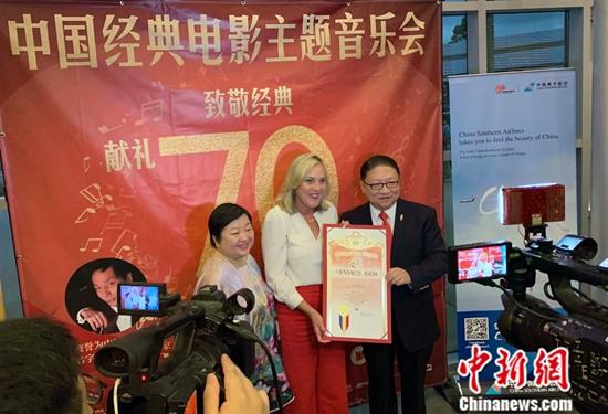中国经典电影主题音乐会在南加州唱响