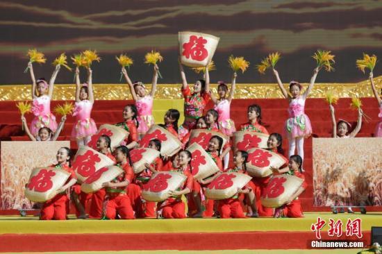 """多地庆祝第二个""""中国农民丰收节"""""""