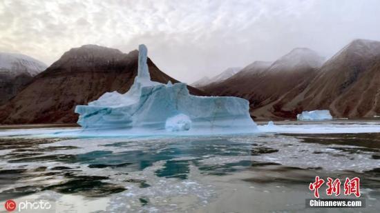 材料图:格陵兰岛。 图片滥觞:ICphoto