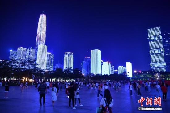 材料图:深圳中间区。a target='_blank' href='http://www.chinanews.com/'中新社/a记者 陈文 摄