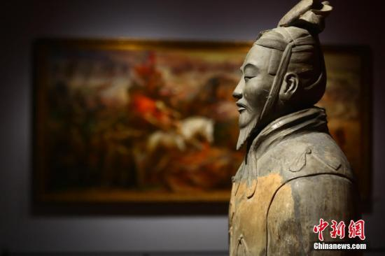 资料图:西安秦始皇帝陵博物院。/p中新社记者 张远 摄