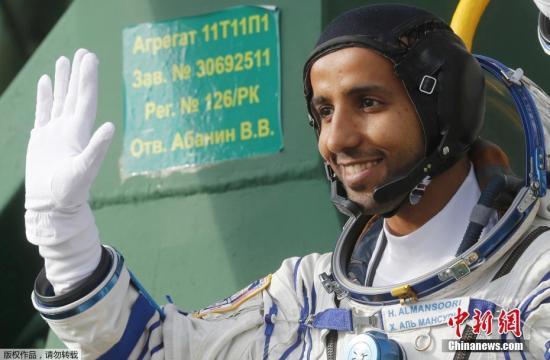 材料图:阿联酋宇航员Hazzaa Ali Almansoori。