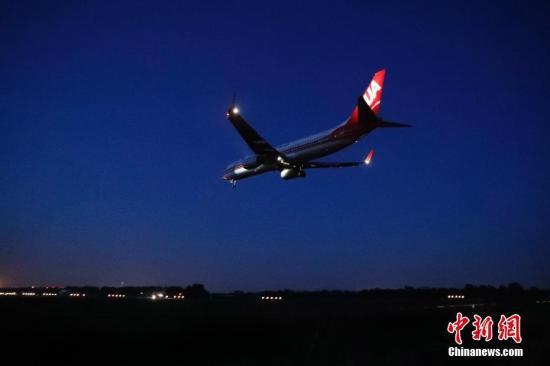 材料图:客机。 a target='_blank' href='http://www.chinanews.com/'中新社/a记者 韩海丹 摄
