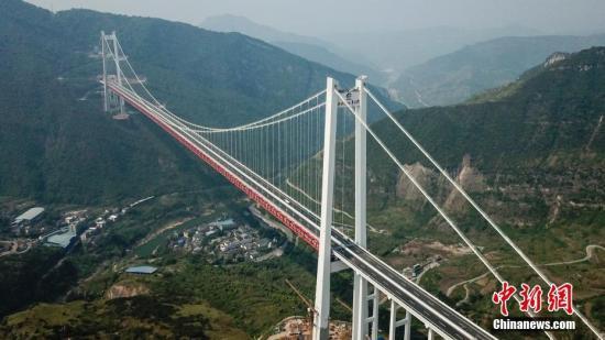 贵州高速公路总里程突破7000公里 总里程居中国第四