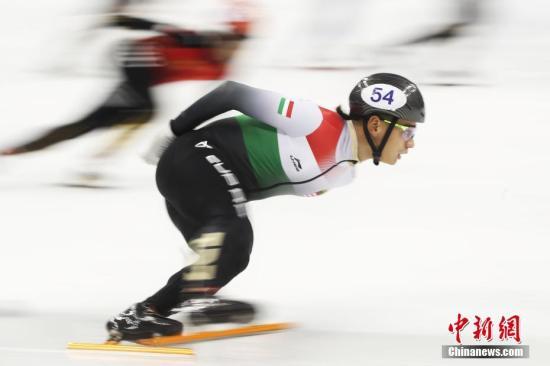 匈牙利男队在北京冬奥周期表现依旧强势。(资料图:匈牙利选手刘少林高速滑行。 <a target='_blank' href='http://www.chinanews.com/'>中新社</a>记者 张亨伟 摄)