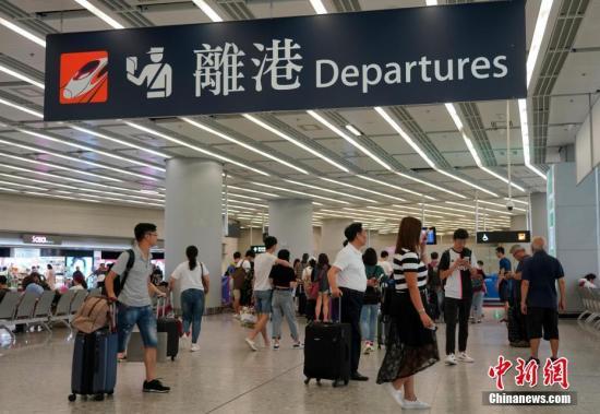 资料图:香港西九龙站。 <a target='_blank' href='http://www.chinanews.com/'>中新社</a>记者 张炜 摄