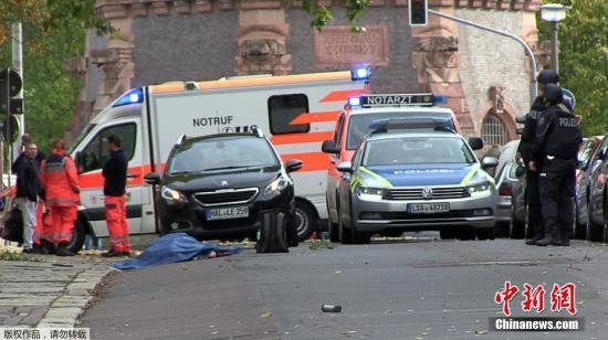 德国德国警圆已全部武拆封闭事发明场。