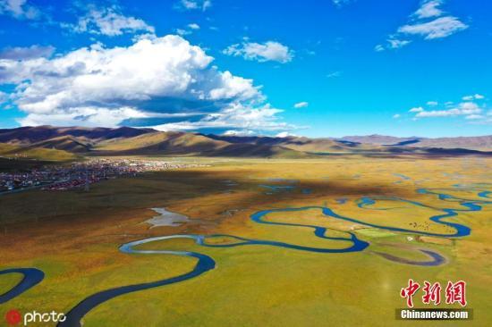 资料图:甘南草原。图片来源:ICphoto