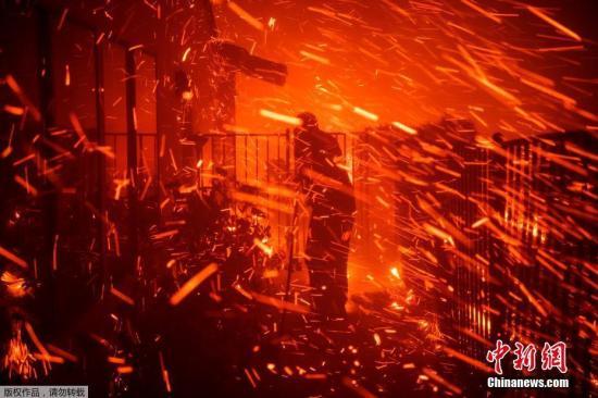 担忧引发山火 美国加州逾3万用户可能再次断电