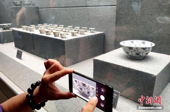 福建泉州海交馆迎来清代沉船出水的50件德化瓷器